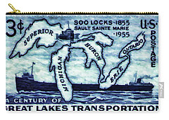 The Soo Locks Stamp Carry-all Pouch