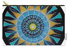Carry-all Pouch featuring the painting The Soul Mandala by Patricia Arroyo
