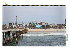 The South View Venice Beach Pier Carry-all Pouch