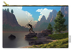 The Spear Fisher Carry-all Pouch by Daniel Eskridge