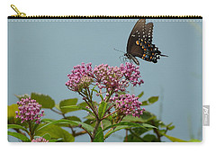 Carry-all Pouch featuring the photograph The Spicebush Swallowtail Of Prettyboy Reservoir by Donald C Morgan