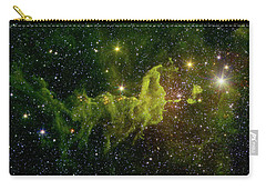 Carry-all Pouch featuring the photograph The Spider And The Fly Nebula by NASA JPL - Caltech