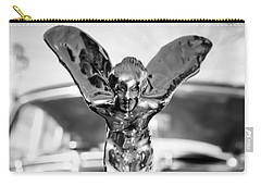 The Spirit Of Ecstasy - Noir Carry-all Pouch by Colleen Kammerer