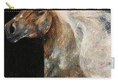 Carry-all Pouch featuring the painting The Spirit Of Freedom by Barbie Batson