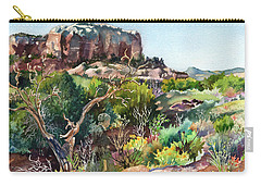 The Spirit Of Ghost Ranch Carry-all Pouch