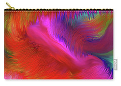 Carry-all Pouch featuring the digital art The Spirit Of Life by Sherri Of Palm Springs