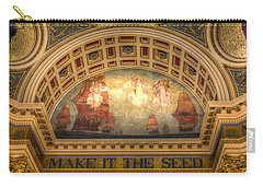 Carry-all Pouch featuring the photograph The Spirit Of Religious Liberty by Shelley Neff