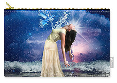 Carry-all Pouch featuring the digital art The Spirit Of Truth by Dolores Develde