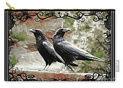 The Spooky Ravens Carry-all Pouch