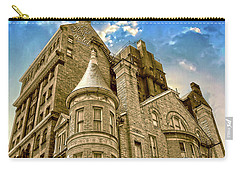 Carry-all Pouch featuring the photograph The Stafford Hotel by Brian Wallace