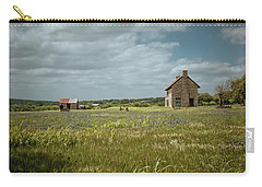 Carry-all Pouch featuring the photograph The Stone House by Linda Unger