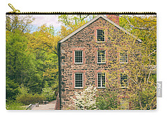 The Stone Mill In Spring Carry-all Pouch by Jessica Jenney