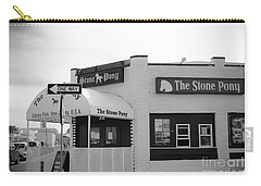 Carry-all Pouch featuring the photograph The Stone Pony - One Way by Colleen Kammerer