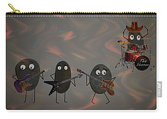Carry-all Pouch featuring the digital art The Stones by David Dehner