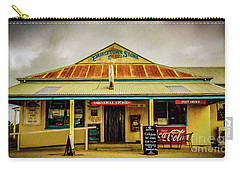 Carry-all Pouch featuring the photograph The Store by Perry Webster