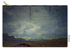 Carry-all Pouch featuring the photograph The Story Goes On  by Mark Ross