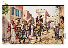 The Story Of Isaac  Carry-all Pouch by Pat Nicolle