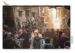 The Streets Of Kathmandu Carry-all Pouch