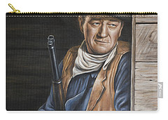 Carry-all Pouch featuring the painting The Stuff Men Are Made Of by Kim Lockman