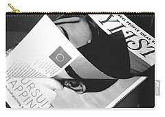 Carry-all Pouch featuring the photograph The Stylist by Rebecca Harman
