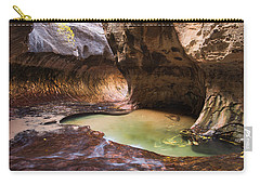Carry-all Pouch featuring the photograph The Subway by Patricia Davidson