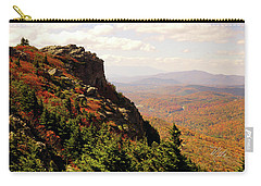Carry-all Pouch featuring the photograph The Summit In Fall by Meta Gatschenberger