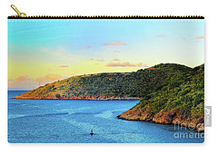 The Sun Sets On St. Thomas Carry-all Pouch