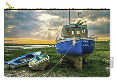 The Sun Sets On The Ellen Kelly Carry-all Pouch by Brian Tarr