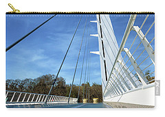 Carry-all Pouch featuring the photograph The Sundial Bridge by James Eddy
