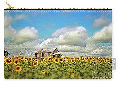 The Sunflower Farm Carry-all Pouch by Darren Fisher
