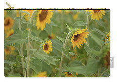 The Sunflower Patch Carry-all Pouch