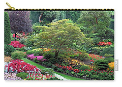 The Sunken Garden At Dusk Carry-all Pouch
