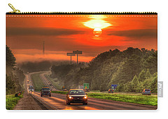The Sunrise Commute Georgia Interstate 20 Art Carry-all Pouch