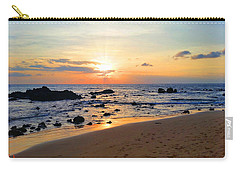 The Sunset Of Maui Carry-all Pouch by Michael Rucker