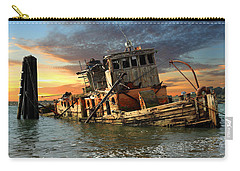 The Sunset Years Of The Mary D. Hume Carry-all Pouch by James Eddy