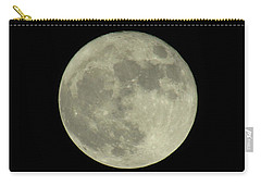 Carry-all Pouch featuring the photograph The Super Moon 3 by Robert Knight