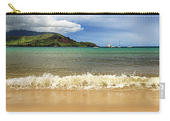 The Surf At Hanalei Bay Carry-all Pouch