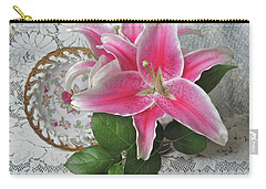 Carry-all Pouch featuring the photograph The Sweetest Glow by Nancy Lee Moran