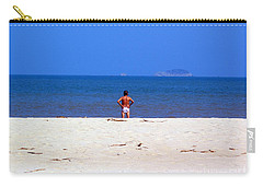 The Swimmer Carry-all Pouch by Ethna Gillespie