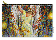 The Swinging Angel Carry-all Pouch