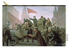 The Taking Of The Moscow Kremlin In 1917 Carry-all Pouch