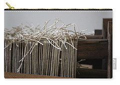 The Tales We Weave In Sepia Photograph Carry-all Pouch
