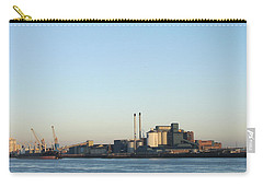 Carry-all Pouch featuring the photograph The Tate And Lyle Sugar Factory -silvertown - London by Mudiama Kammoh
