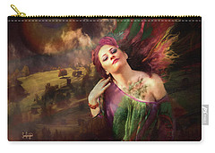 The Tattoo Girl Carry-all Pouch