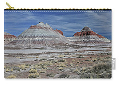 Carry-all Pouch featuring the photograph the TeePees by Gary Kaylor
