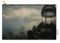 Carry-all Pouch featuring the photograph The Temple Of Love Overlook by Chris Lord