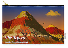 The Tepees Carry-all Pouch