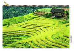 The Terraced Fields Scenery In Autumn Carry-all Pouch