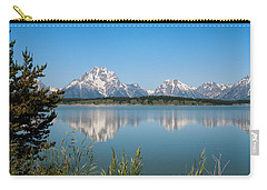 The Tetons On Jackson Lake - Grand Teton National Park Wyoming Carry-all Pouch
