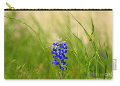 The Texas Bluebonnet Carry-all Pouch